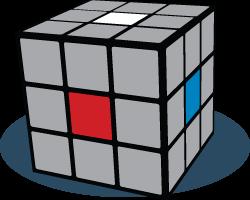 Centrumvlakken Rubiks Kubus