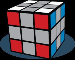 Hoekblokken Rubiks Kubus