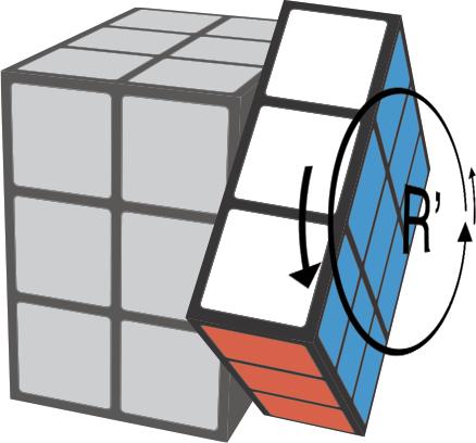 move_rreverse Rubiks Kubus
