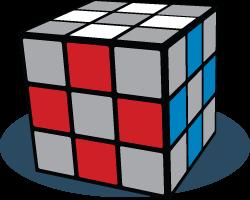 Randblokken Rubiks Kubus